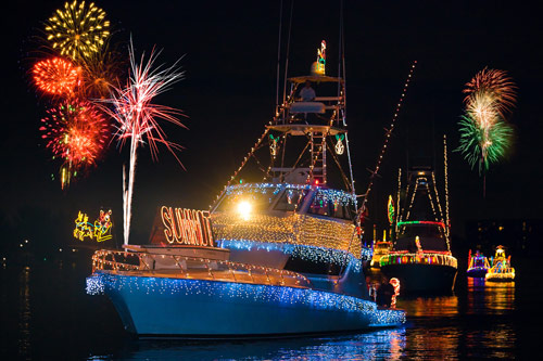 The 2014 20th Annual Palm Beach Holiday Boat Parade